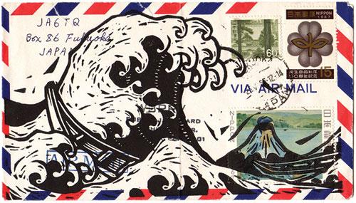 john fellows art illustration design illustrator mail art