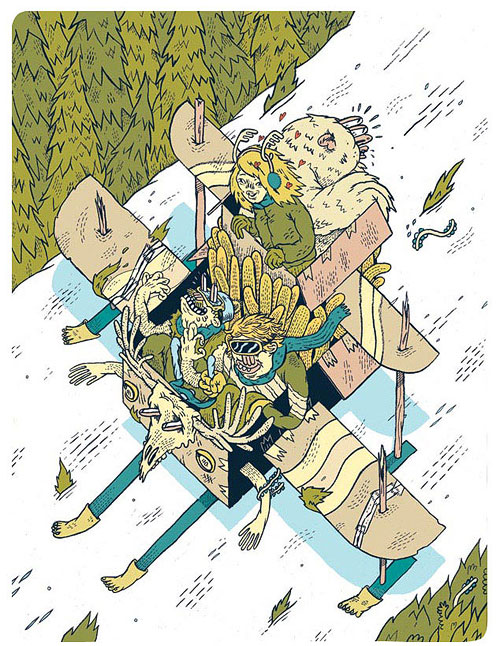 josh j holinaty illustrator illustration transworld