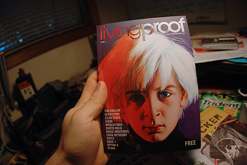 living proof magazine graf photo art free publication