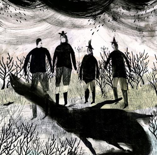 maxwell loren holyoke hirsch illustrator illustration painter artist