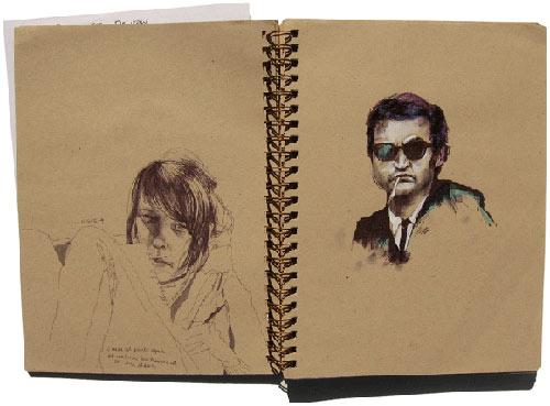 morgan blair sketchbook drawing illustration painting