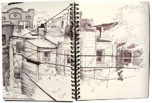 morgan blair sketchbook drawing illustration painting