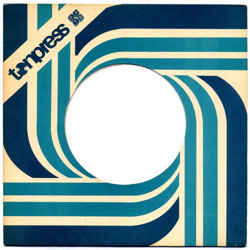 vintage factory record sleeve envelope kavel rafferty vinyl graphic design