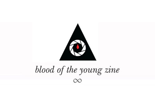 blood of the young zine photography blog