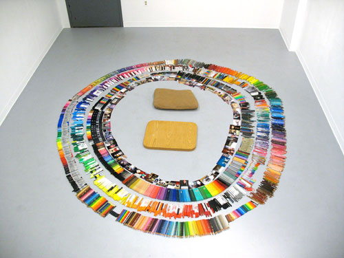 brooke inman artist drawing everything color circle