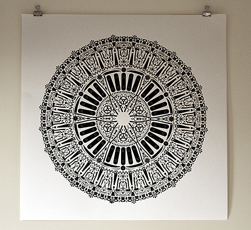 dan funderburgh graphic design wallpaper illustration pattern