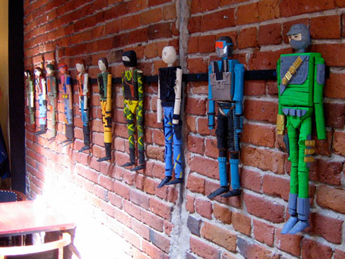 homemade handmade g.i. joe action figure figurines caleb beyers