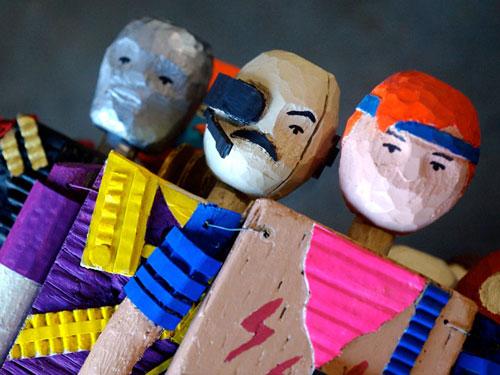 homemade handmade g.i. joe action figure figurines caleb beyers