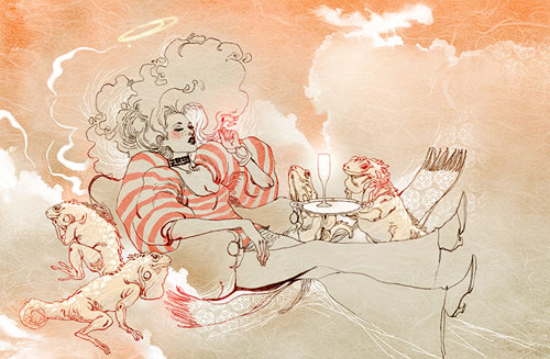 marguerite sauvage fashion illustration illustrator lifestyle