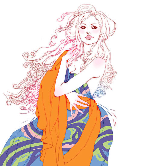 marguerite sauvage fashion illustration illustrator lifestyle