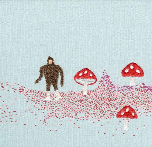 megan whitmarsh sewing needle thread illustration illustrator