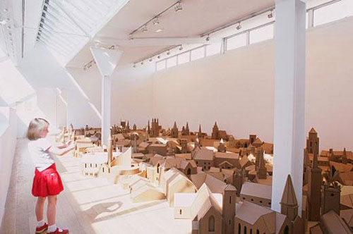 nathan coley artist installation churches miniature model