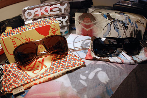 oakley frogskins artist series barry mcgee will barras hijinx montefrio sunglasses