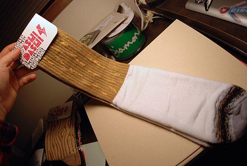 ashi dashi cigarette socks