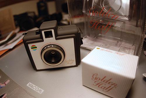 golden half camera 35mm photography photo toy