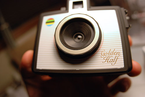 golden half camera 35mm photography photo toy