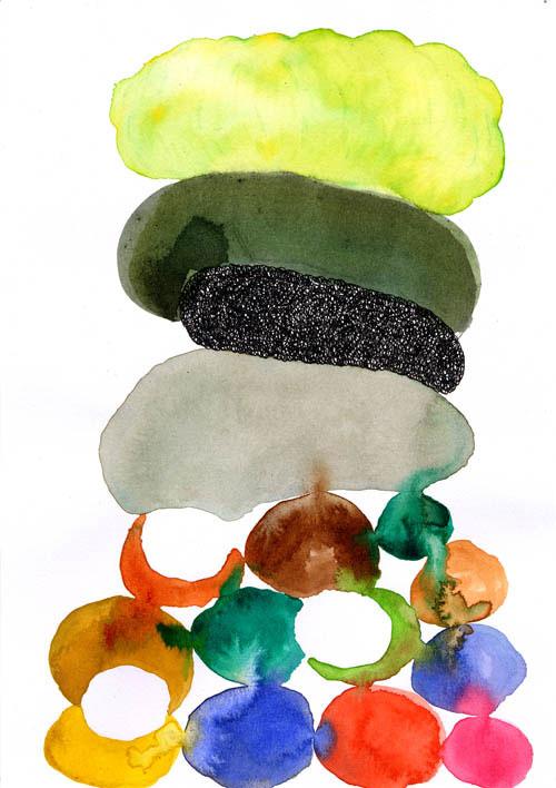 julien kedryna abstract drawings