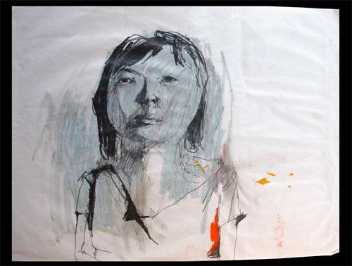 monica canilao art installation drawing mixed media