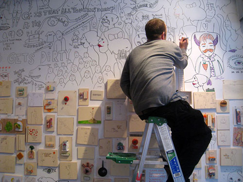porous walker san fran artist drawing receiver gallery