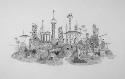 randall sellers graphite drawings
