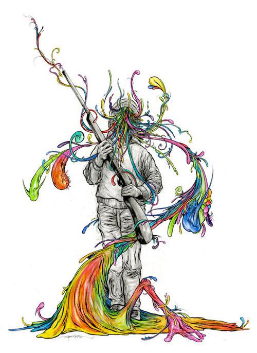 alex pardee illustrator illustration