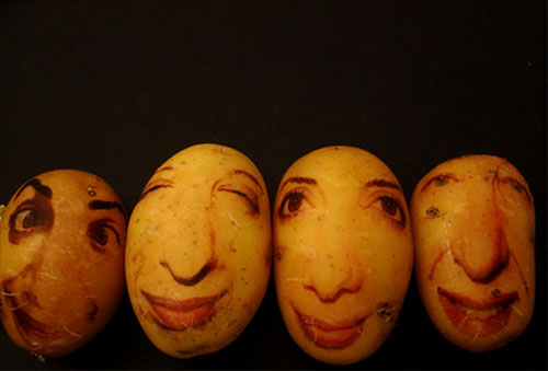 ginou choueiri potato portrait