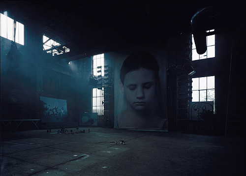 Gottfried Helnwein painting photography installation performance artist painter photographer