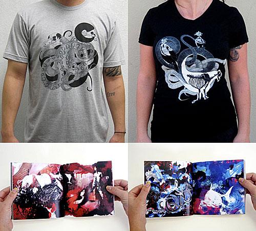 hannah stouffer tee book print drawing illustration illustrator giveaway