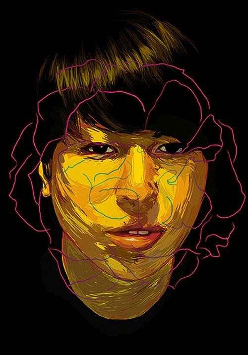 jose manuel hortelano drawing painting portrait