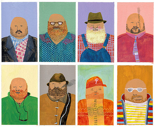 keith shore painting illustration drawing