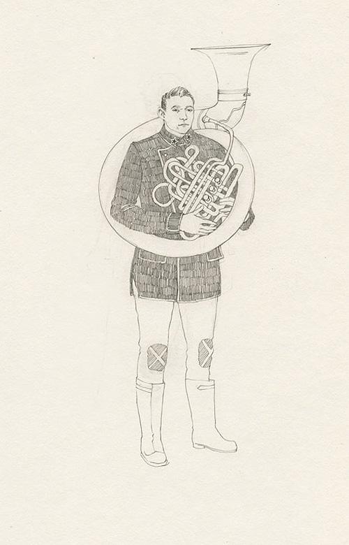 lauren nassef illustrator illustration drawing collage chicago