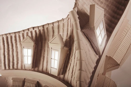 mandy smith paper house distorted craft