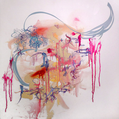 sarah spitler painter painting artist abstract