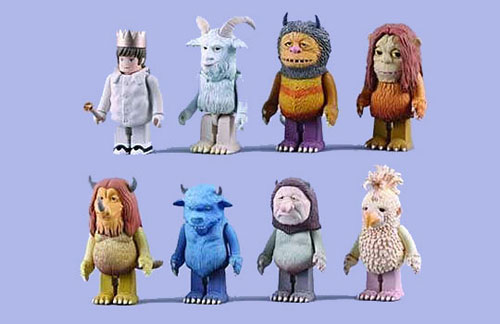 where the wild things are kubrick medicom