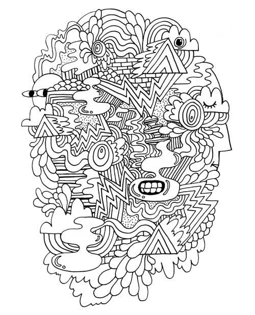 Free Doodles Zine Booooooom Create Inspire