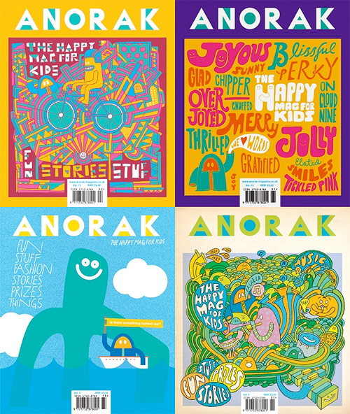 anorak magazine cover design mission