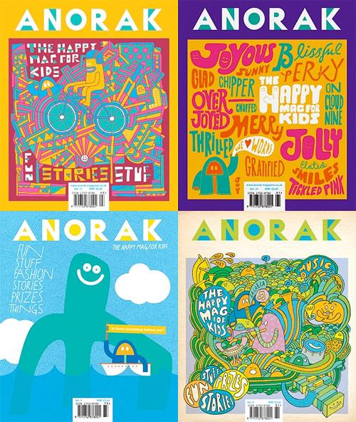anorak magazine cover design mission