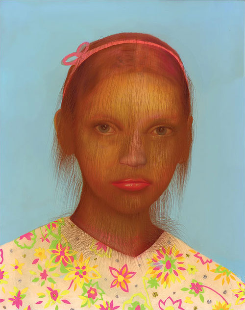 erik mark sandberg hair children portraits painting painter