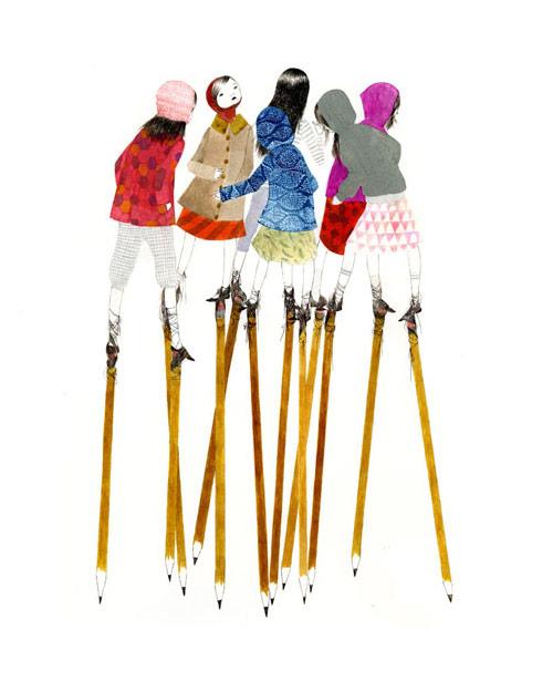 julie morstad vancouver illustrator illustration drawing