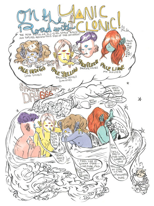 lauren albert lala drawing illustration