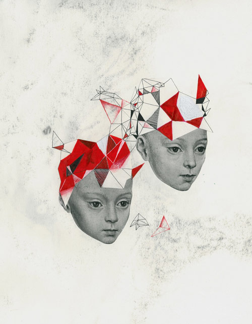 mary virginia carmack collage paper artist