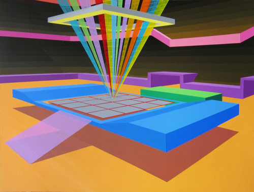 michael dotson washington dc artist painter painting acrylic abstract