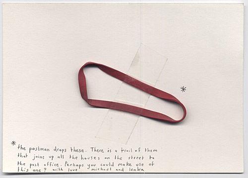 michael crowe lenka clayton mysterious letters project artist art cushendall