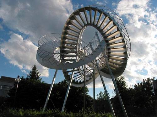 michel de broin artist sculpture intervention