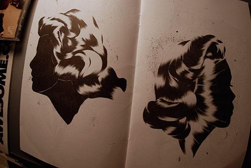 shawn kuruneru drawing artist montreal ink ballpoint zine