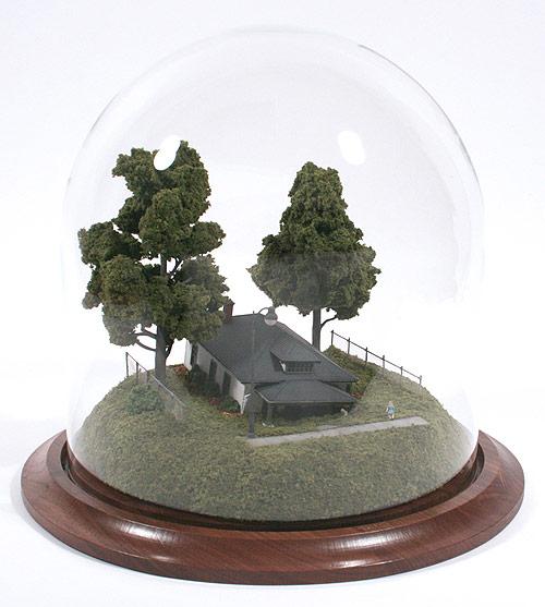 thomas doyle miniature sculpture distillation reclamations bearings