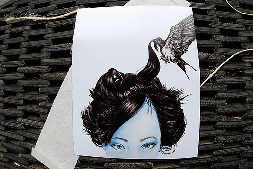 emily wong hair drawing