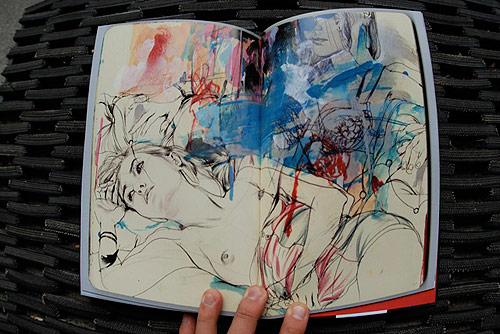 james jean process recess vol 3 book art illustration drawing sketch