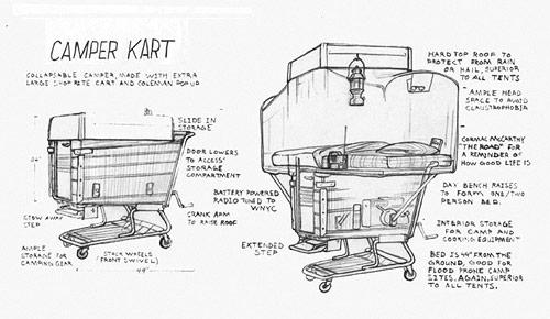 kevin cyr camper kart bike artist project