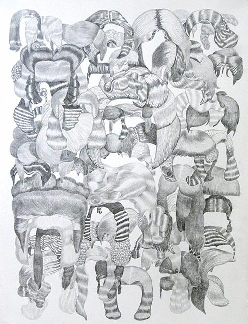 Masha Krasnova-Shabaeva drawing artist